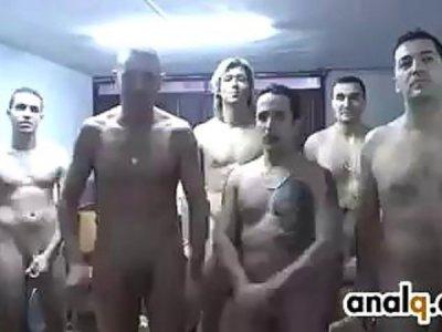 Beauty Gang Banged By Big Cocks