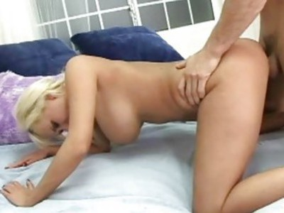 Blond Hardcore bitch fucks hard pt 1