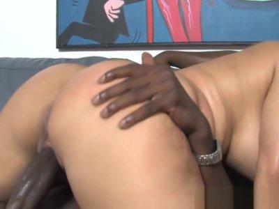 Busty Cougar Friday Wants To Fuck Big Black Cocks
