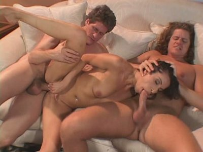 Tasty looking Latin bitch Monica Breeze gets fucked in doggy while giving a head