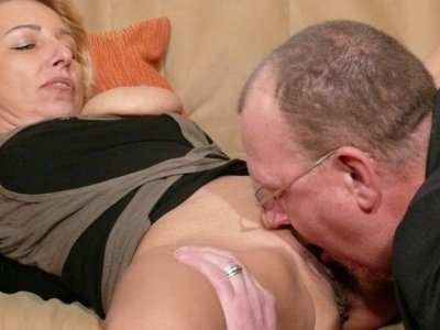 Paying with her pussy