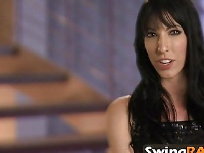 Swingers role play in prison by banging by banging
