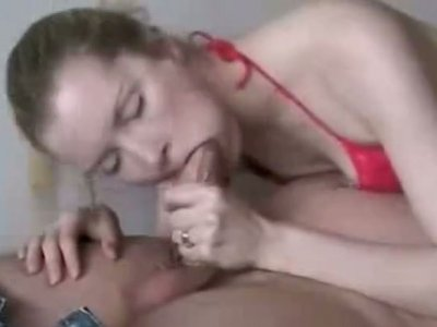 Being addicted to sticky cum slutty pale nympho gives a solid blowjob